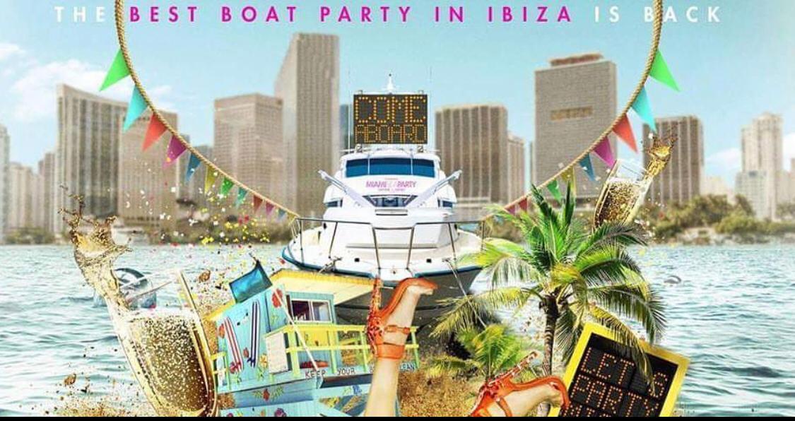 SPRING BREAK 2020 BOAT PARTY MIAMI BEACH ALL U CAN DRINK