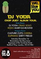 Dj Yoda Chop Suey Album Tour - London