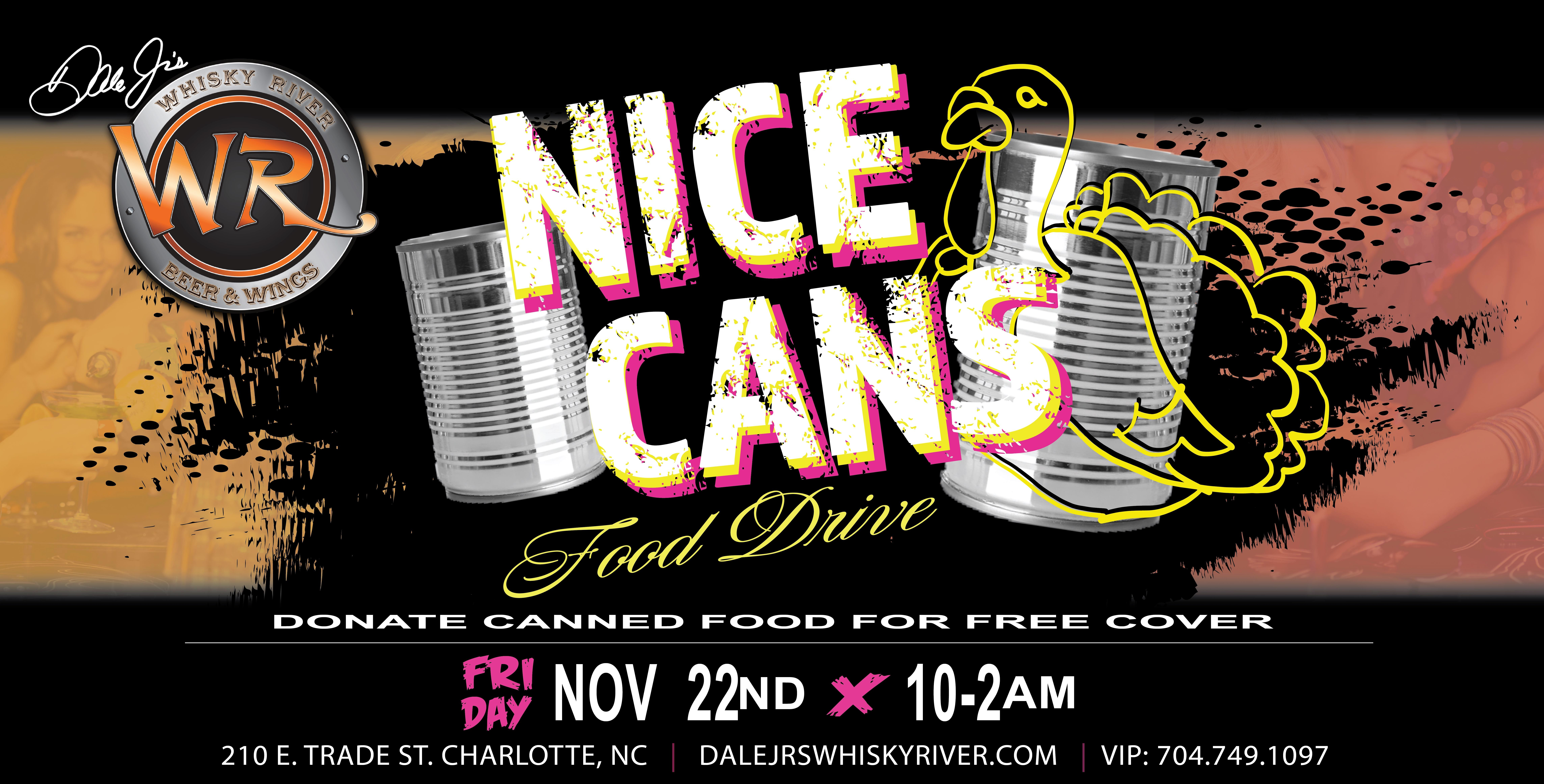 Nice Cans (Canned Food Drive)
