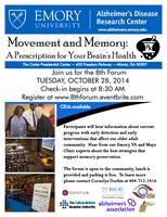 Movement and Memory: A Prescription for Your Brain's...