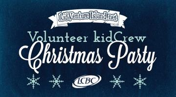 Volunteer kidCrew Christmas Party (bring the fam!)