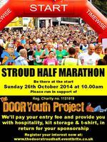 Stroud Half Marathon - Running in aid of The Door...