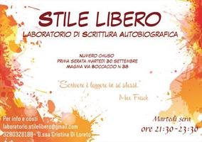 Laboratorio di Scrittura Autobiografica - Stile LIbero