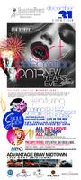 Art of Celebration Cirque Du' Amor New Years Eve Bash...