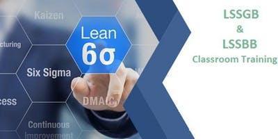 Dual Lean Six Sigma Green Belt & Black Belt 4 days Classroom Training in Tampa, FL