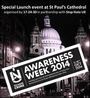 Launch event National Hate Crime Awareness Week 2014...