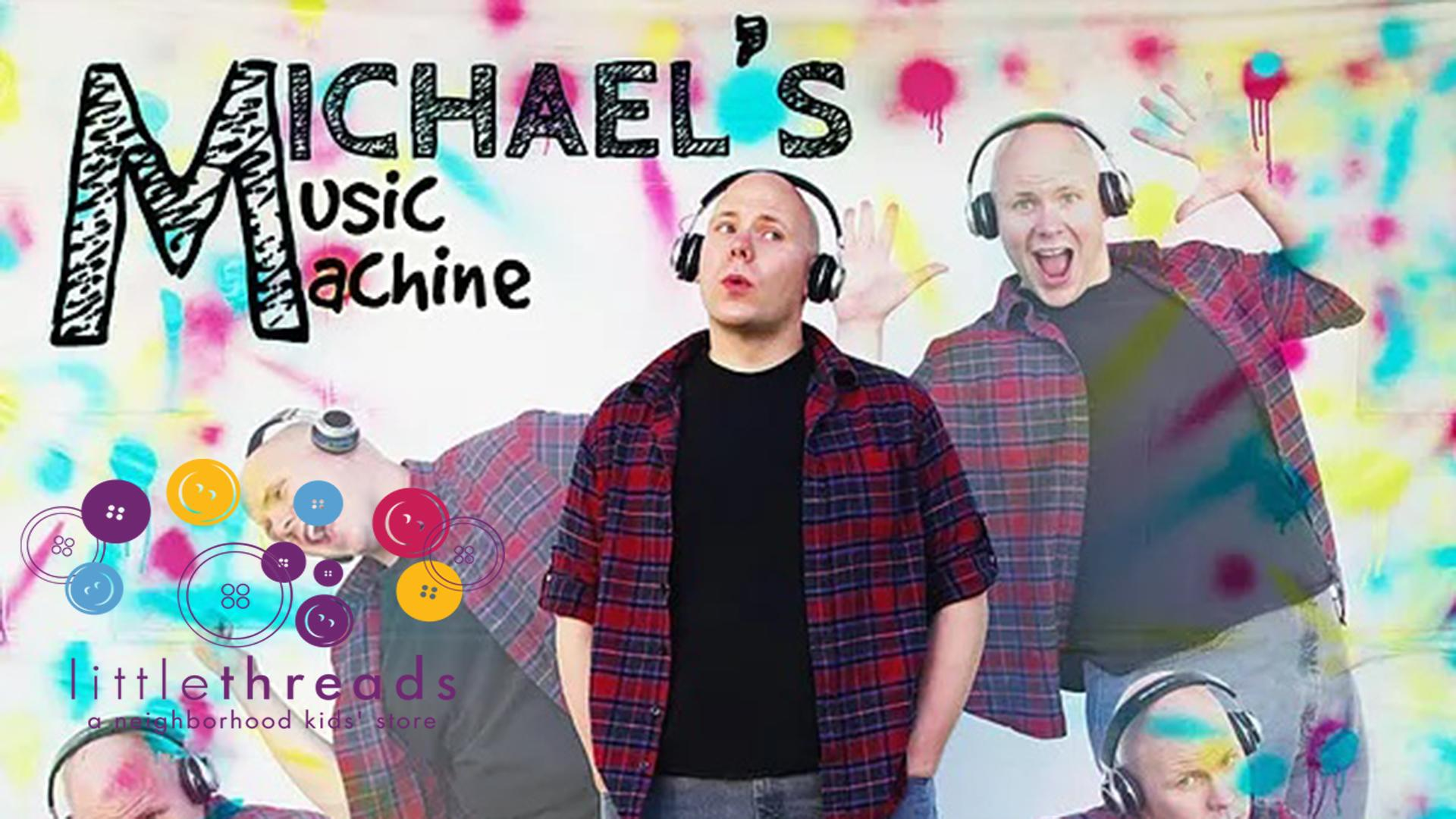 Single Class: Music & Movement with Michael's Music Machine