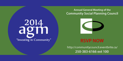 2014 Annual General Meeting of the  COMMUNITY SOCIAL...