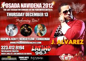 POSADA NAVIDEÑA 2012 feat. 4 ARTISTS on 1 STAGE