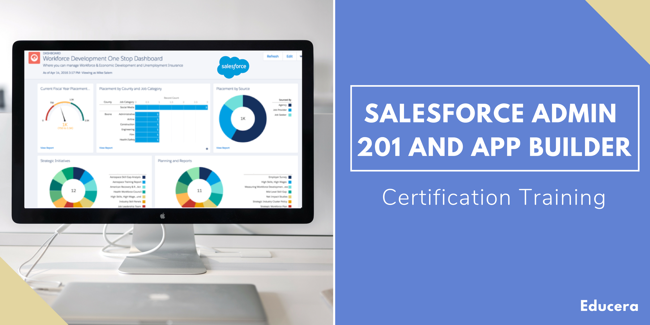 Salesforce Admin 201 and App Builder Certification Training in Saint John, NB