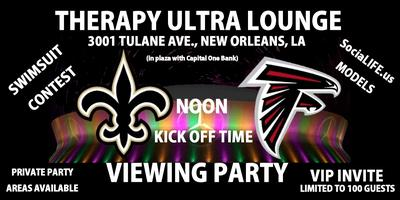 Football Therapy - Ultra Lounge - Viewing Party -...
