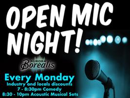Open Mic Mondays