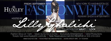 Lilly Ghalichi Fashion Show & After Party at The...