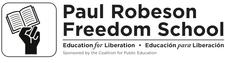 Paul Robeson Freedom School logo