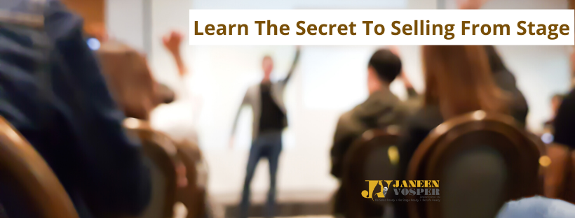 Learn the Secrets to Selling From Stage - 1-Day Masterclass for Up-and-Coming Speakers