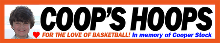 Remember Cooper Stock – Support Coop's Hoops at the NY...