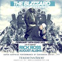 THE BLIZZARD SKI TRIP (in concert ) RICK ROSS & AUGUST...