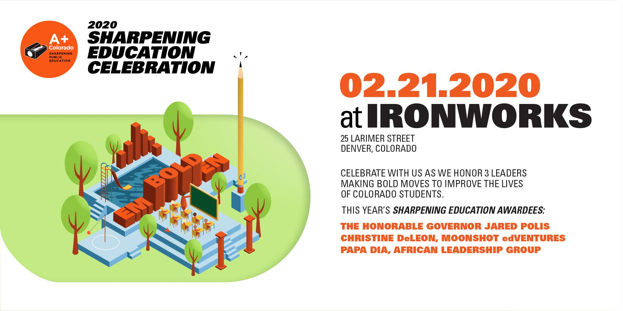 A+ Colorado: Sharpening Education Celebration