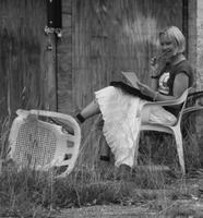 Daisy White meets David Gee, Author - Saturday