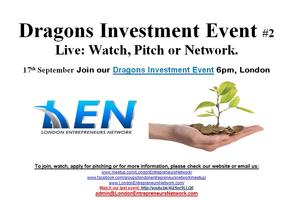 Dragons Investment Event #2