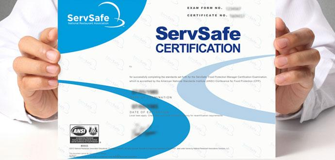 ServSafe Food Manager Class & Certification Examination Maple Grove, Minnesota