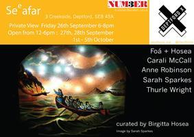 SEeAFAR: exhibition by Foa+Hosea, McCall, Robinson,...