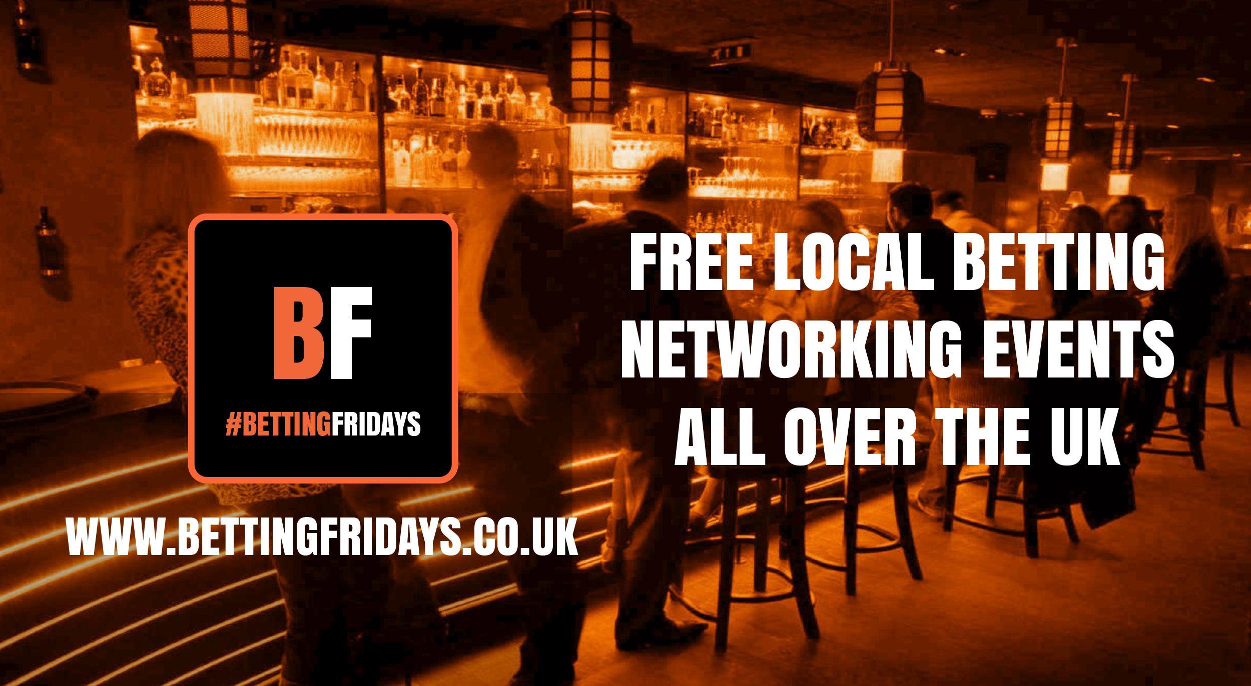 Betting Fridays! Free betting networking event in Hammersmith