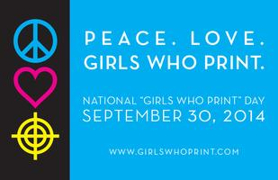 National GIRLS WHO PRINT Day 2014 - Hospitality Force