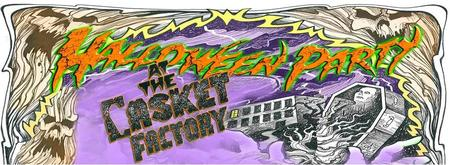 Halloween Party at the Casket Factory
