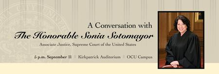 A Conversation with The Honorable Sonia Sotomayor