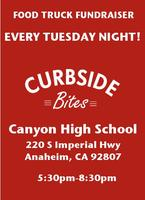 Gourmet Food Truck Fundraiser at Canyon High School by Curbs...
