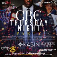 CBC Thursday Night Party Hosted By Nat'l Black Law...