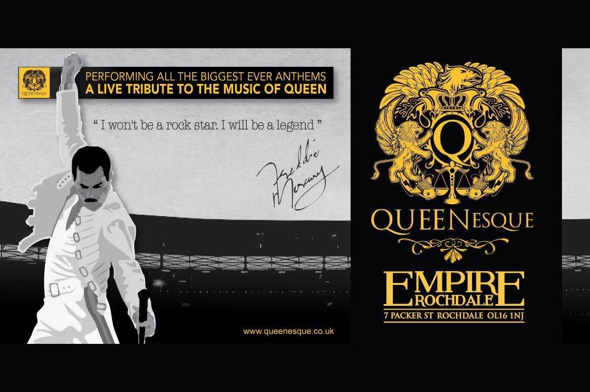 QUEENesque - A live tribute to the music of Queen