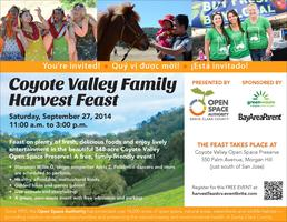 Coyote Valley Family Harvest Feast