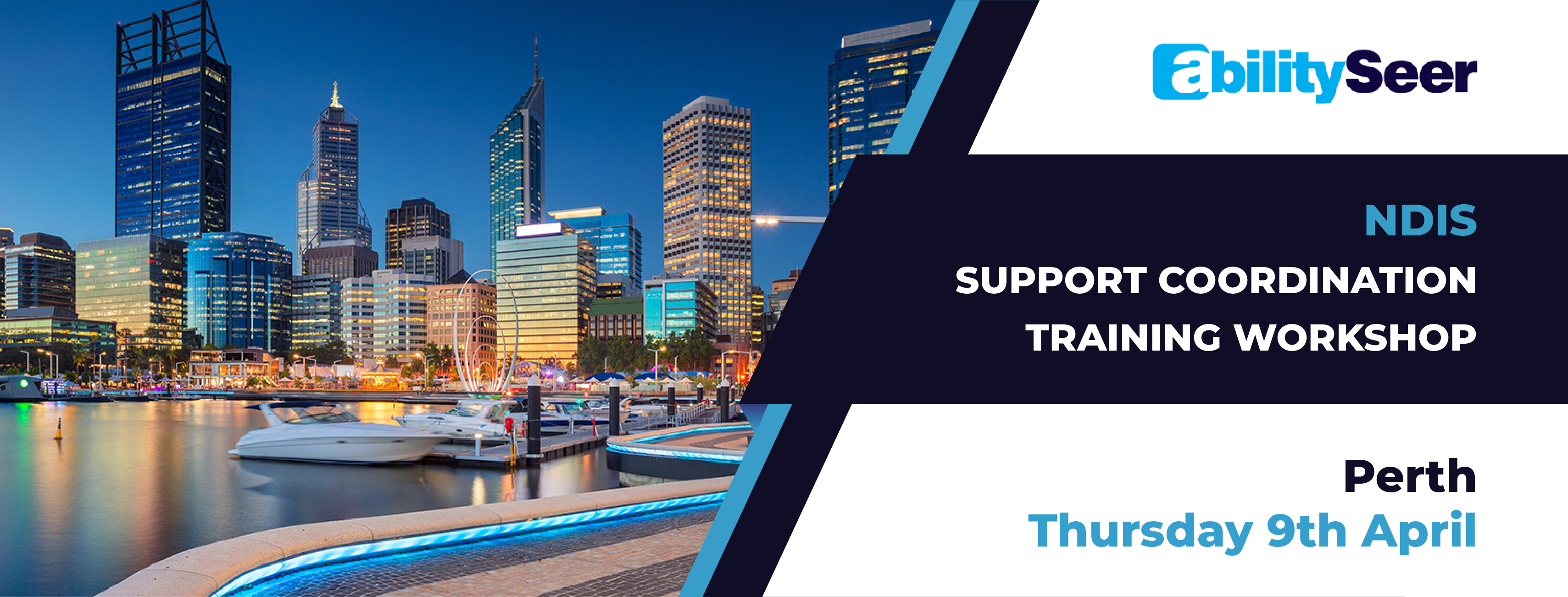NDIS Support Coordination Training Workshop - 9th April 2020, Perth