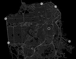 Lines Made By Walking: A 7 x 7 Mile Drawing Across San...