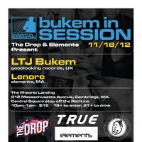 THE DROP! & Elements present LTJ BUKEM (UK) 11/18