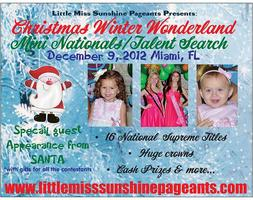 Little Miss Sunshine/ Winter Wonderland Pageant