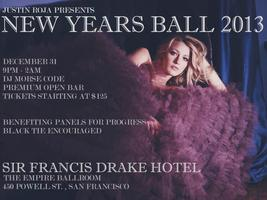 JUSTIN ROJA PRESENTS | NEW YEARS BALL 2013 | SIR FRANCIS...