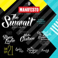 Manifesto Summit and Workshops | as part of #MNFSTO8