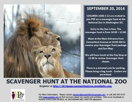 2014 PEP SCHOOLS OUT - SCAVENGER HUNT AT THE NATIONAL...