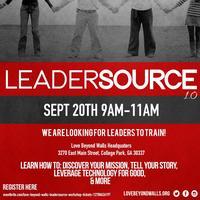 """LOVE BEYOND WALLS """"LEADERSOURCE"""" Workshop"""
