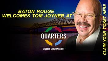Q106.5 Welcomes Tom Joyner to Quarters