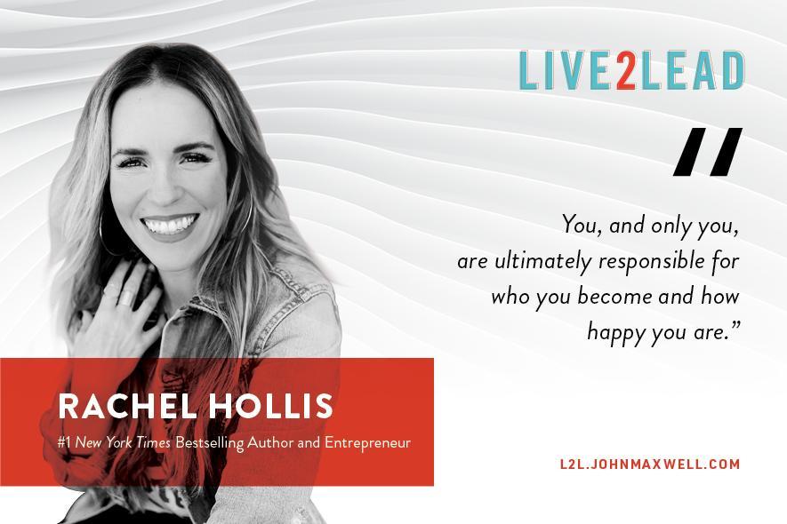 Leadership Series ll Rachel Hollis Live 2 Lead - Rebroadcast