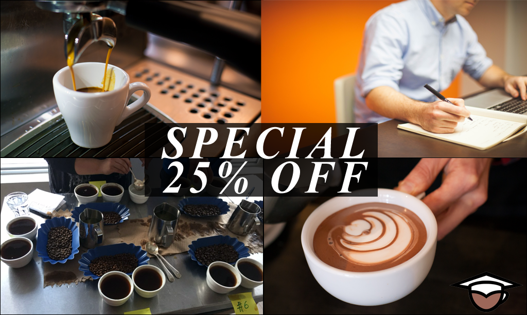 Coffee Business and Barista Training Bundle (4days) - Vancouver