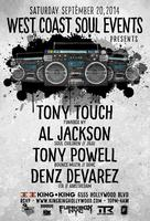 WCS Events wsg. TONY TOUCH!  $5 B4 10:30pm | $10 till...