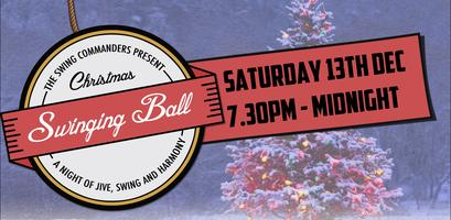 The Swing Commanders' Christmas Swinging Ball!