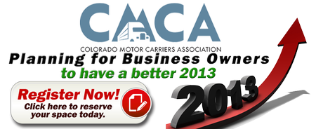 CMCA Planning for Business Owners to Have a Better 2013