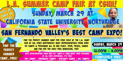Csun Calendar Fall 2020.L A Summer Camp Fair At Cal State Northridge Tickets Sun