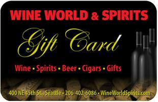 Wine World & Spirits Gift Card